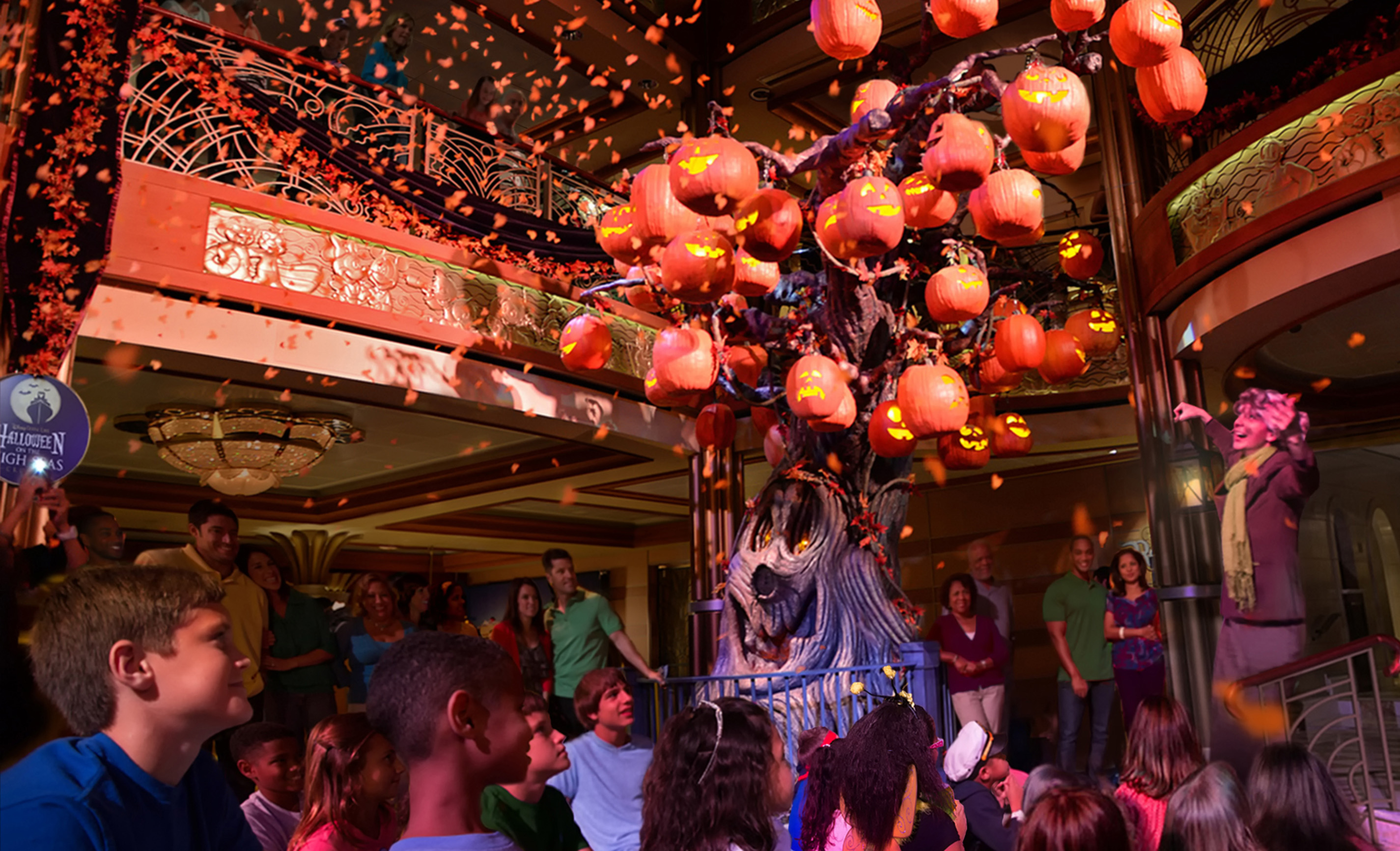 Halloween Fun on Disney Cruise Line