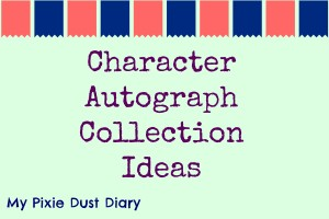 Character Autograph Collection Ideas