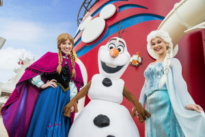 Frozen Comes to Disney Cruise Line