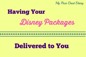 Having Your Disney Packages Delivered to You