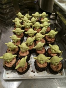Cupcakes from Star Wars Weekend at Hollywood Studios
