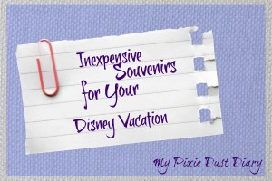 Inexpensive Souvenirs for your Disney Vacation