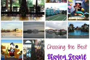 Choosing the Best Disney Resort for Your Vacation