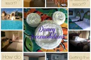 Comparing On & Off Property Disney Accommodations