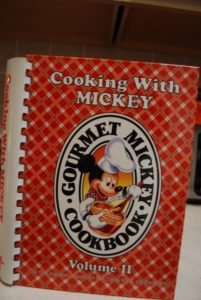 Cooking with Mickey Disney Cookbook