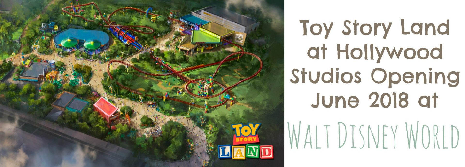 Toy Story Land at Hollywood Studios | MyPixieDustDiary.com | Toy Story Land is opening June 2018 at Disney's Hollywood Studios with lots of new attractions and experiences