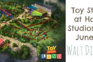 Toy Story Land at Hollywood Studios Opening June 2018