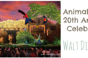 Animal Kingdom 20th Anniversary Celebration