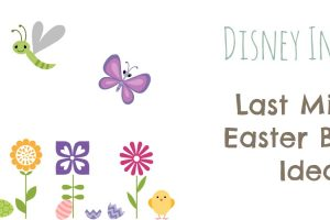 Disney Inspired Easter Basket Items