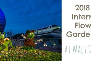 2018 EPCOT International Flower and Garden Festival