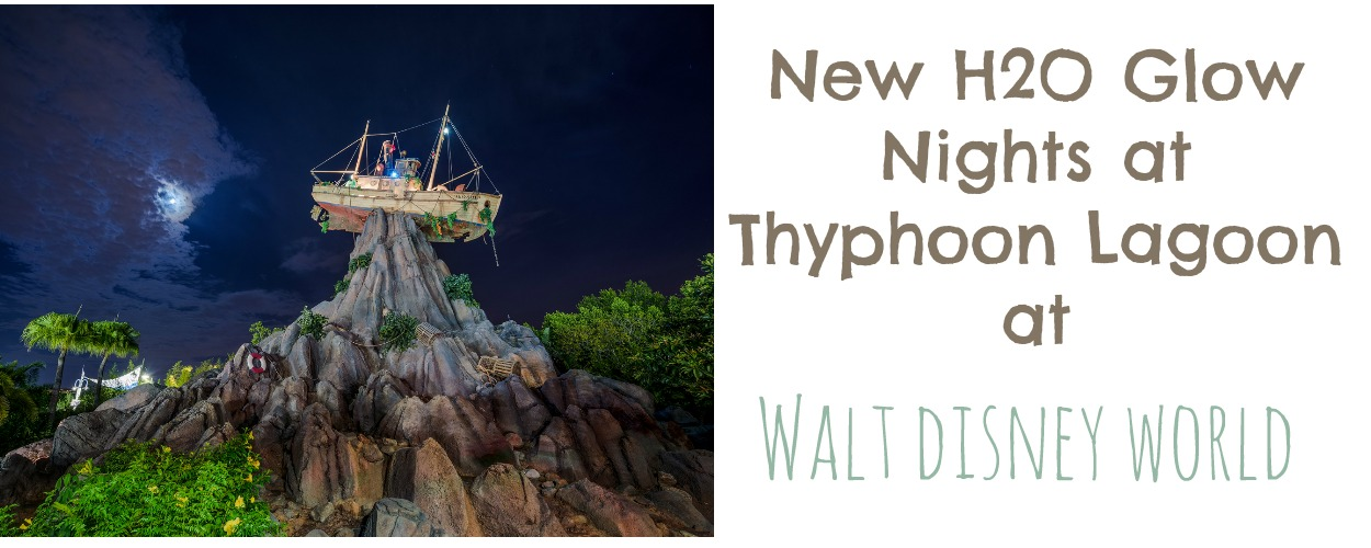 New H2O Glow Nights at Typhoon Lagoon at Walt Disney World | MyPixieDustDiary.com | Check out these fun new events at Typhoon Lagoon featuring Toy Story characters.