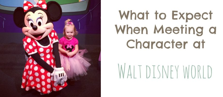 What to Expect When Meeting a Disney Character