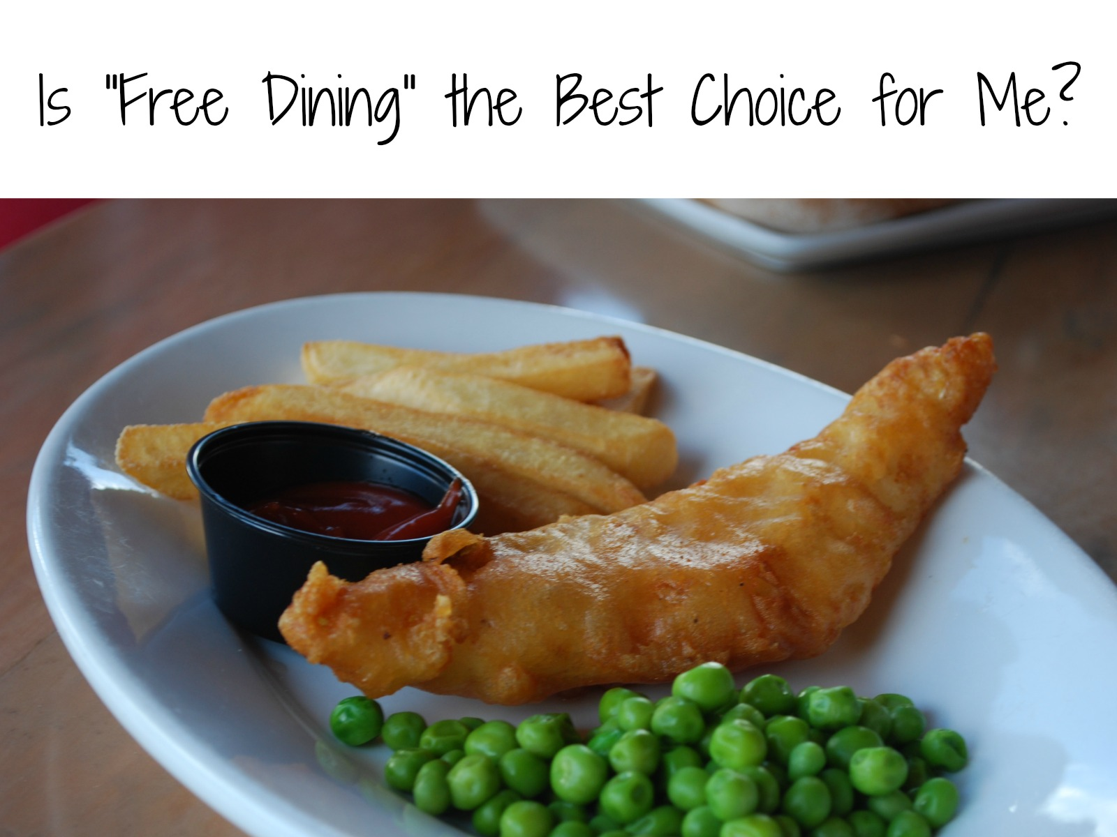 Is Free Dining the Best Choice for Me? | MyPixieDustDiary.com | Not sure if Disney's free dining is the best choice for you and your family? Here are some things to help you make your decision.