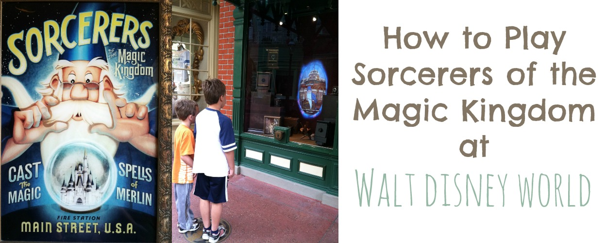 How to Play Sorcerers of the Magic Kingdom at Walt Disney World | MyPixieDustDiary.com | Want to know how to play this fun, free game at the Magic Kingdom? Here are some tips.
