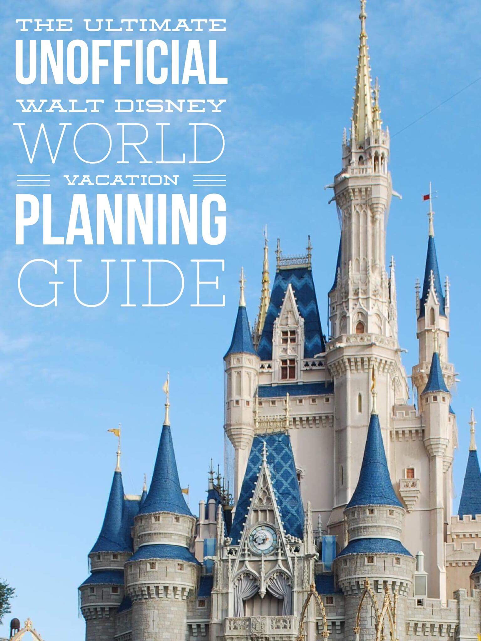 The Ultimate Unofficial Walt Disney World Planning Workbook | MyPixieDustDiary.com | Need help planning your Walt Disney World vacation? This workbook will help you do just that!